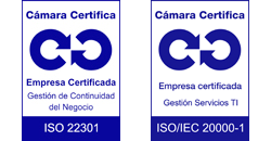 ISO 22301 ISO 20001